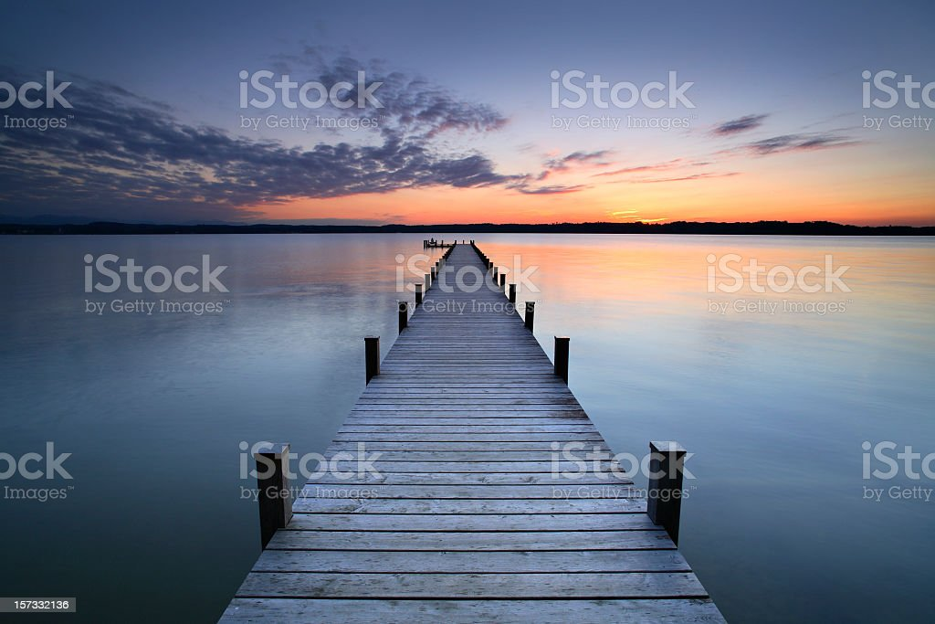 Silent Place stock photo