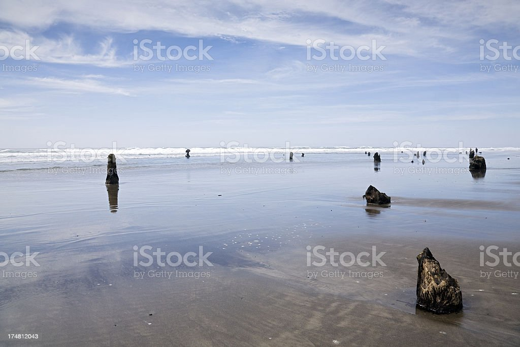 silent sea wide royalty-free stock photo