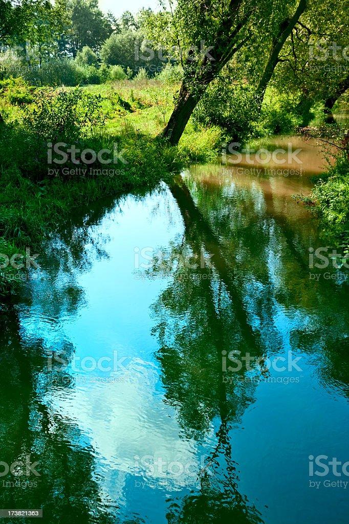 Silent stream royalty-free stock photo