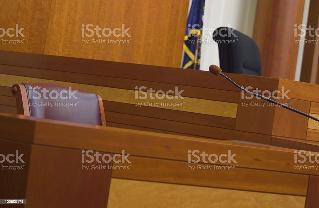 Silent Witness stock photo