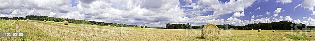 Silesian Landscape Panorama royalty-free stock photo