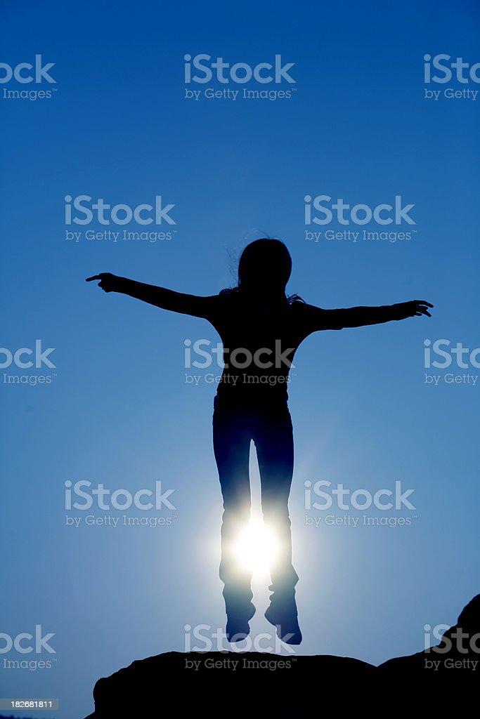 Silhouette 2 royalty-free stock photo