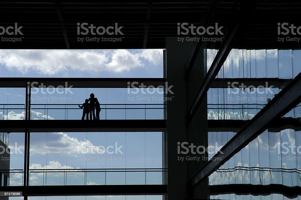 silhouette royalty-free stock photo