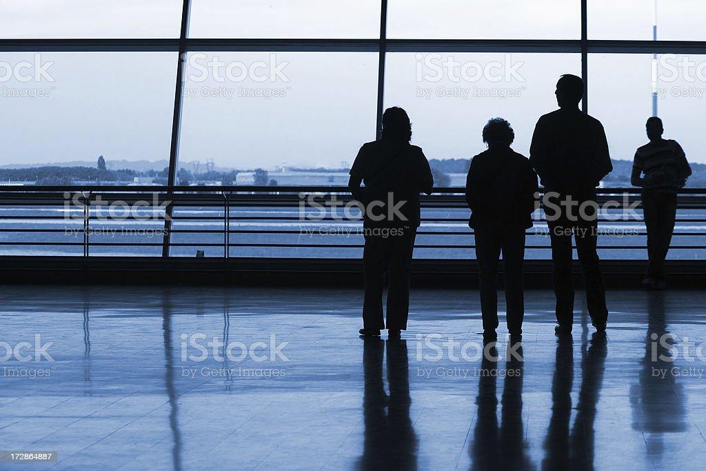 Silhouetts royalty-free stock photo