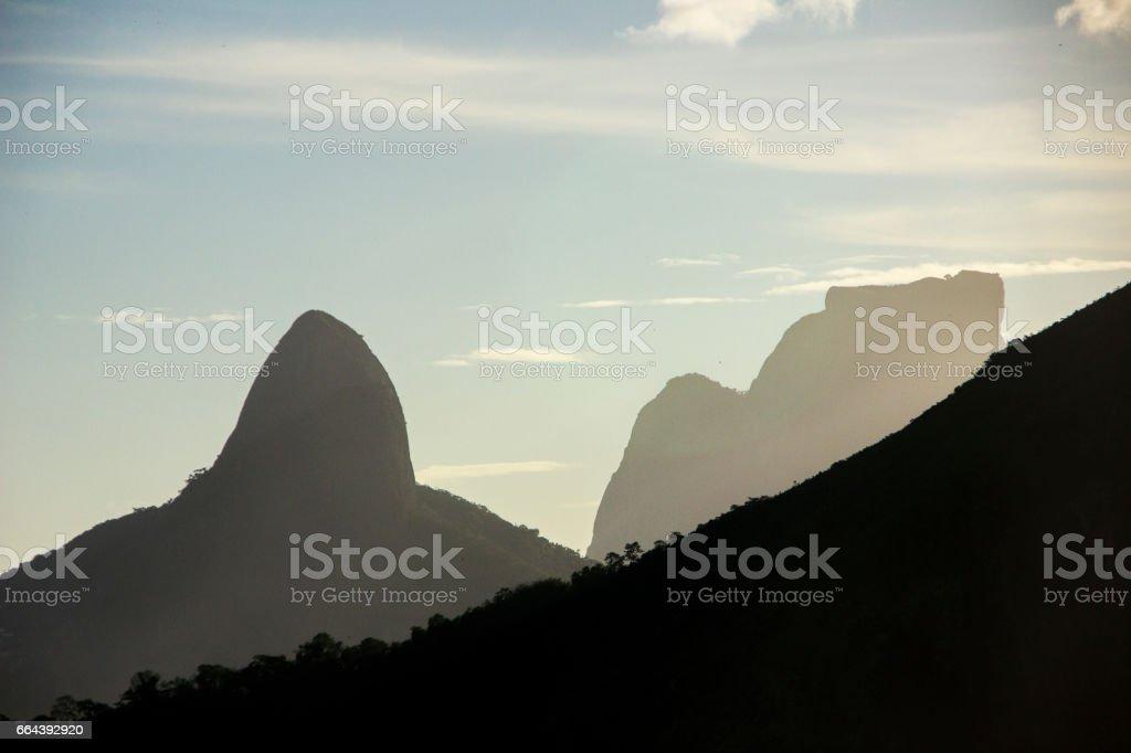Silhueta carioca stock photo