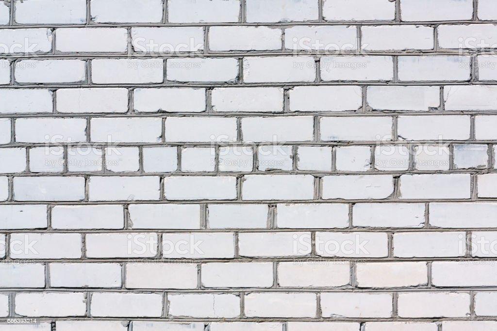 Silicate brick wall stock photo