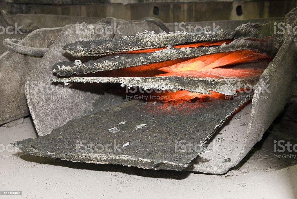 Silicon ferrous metals royalty-free stock photo