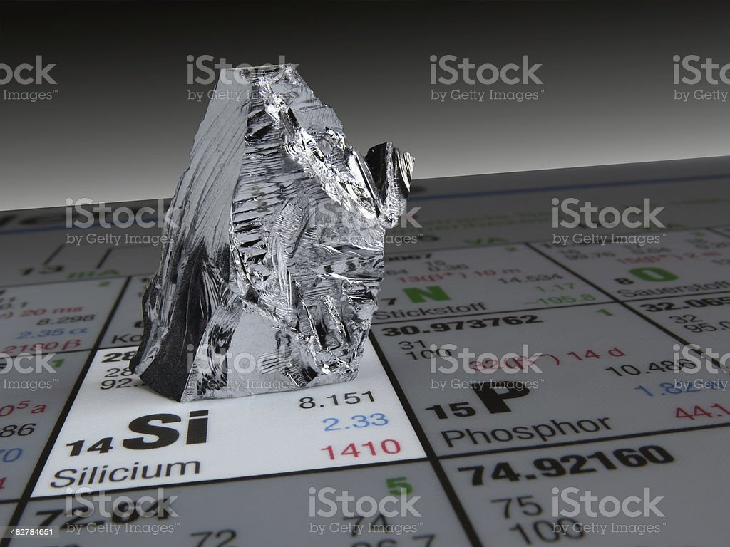 silicium stock photo