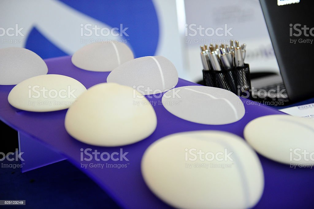 Silicone gel stock photo