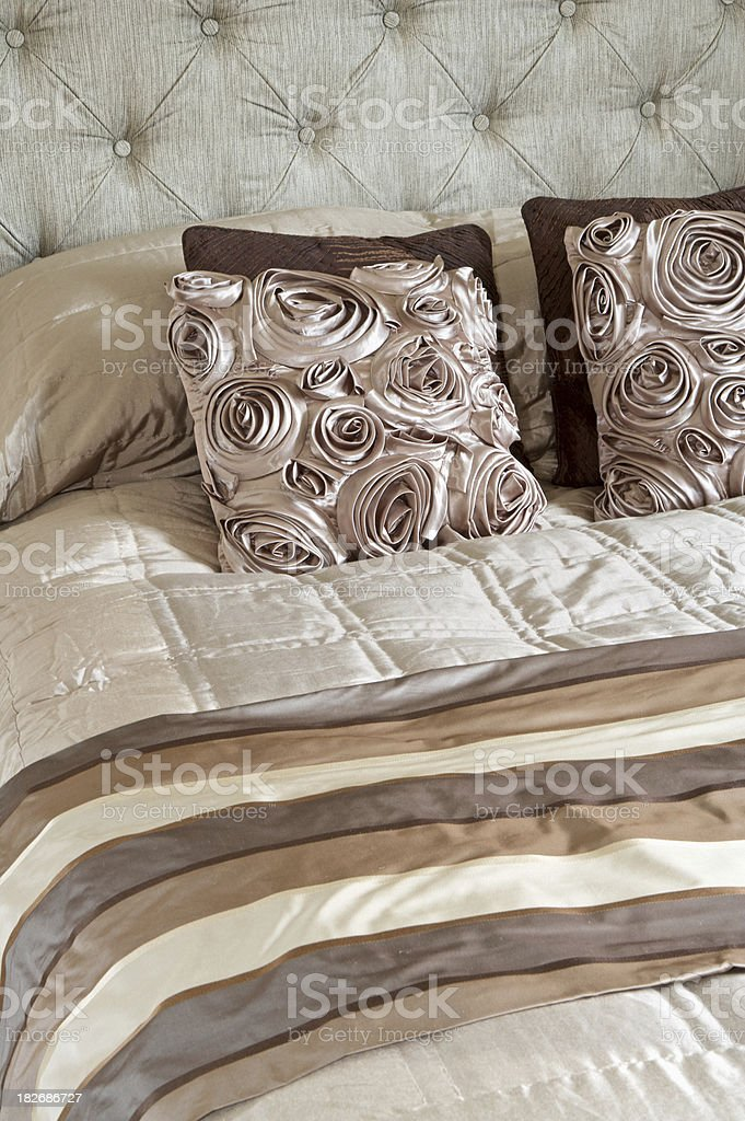 Silk Bedding royalty-free stock photo