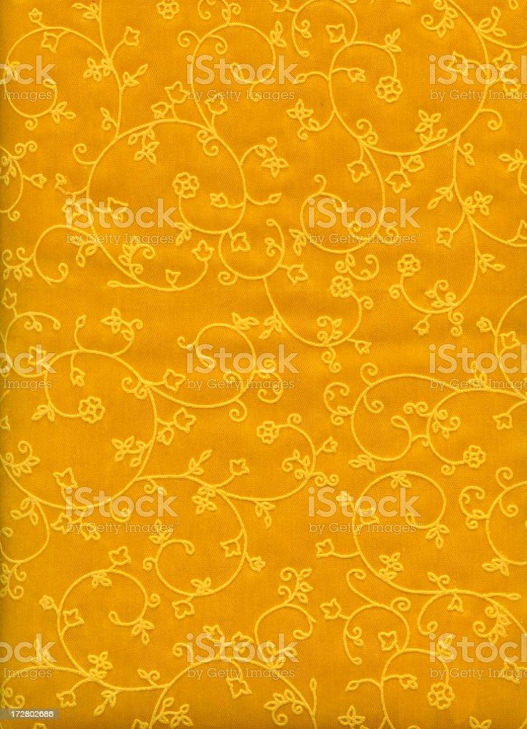 Silk Brocade fabric stock photo