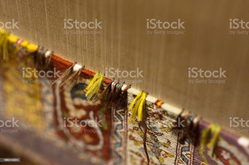silk carpet stock photo
