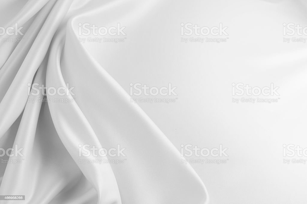 Silk fabric stock photo