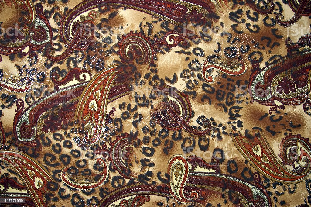 Silk fabrics. Texture and background royalty-free stock photo