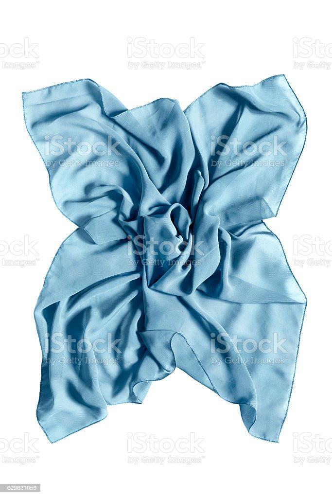 Silk kerchief isolated stock photo