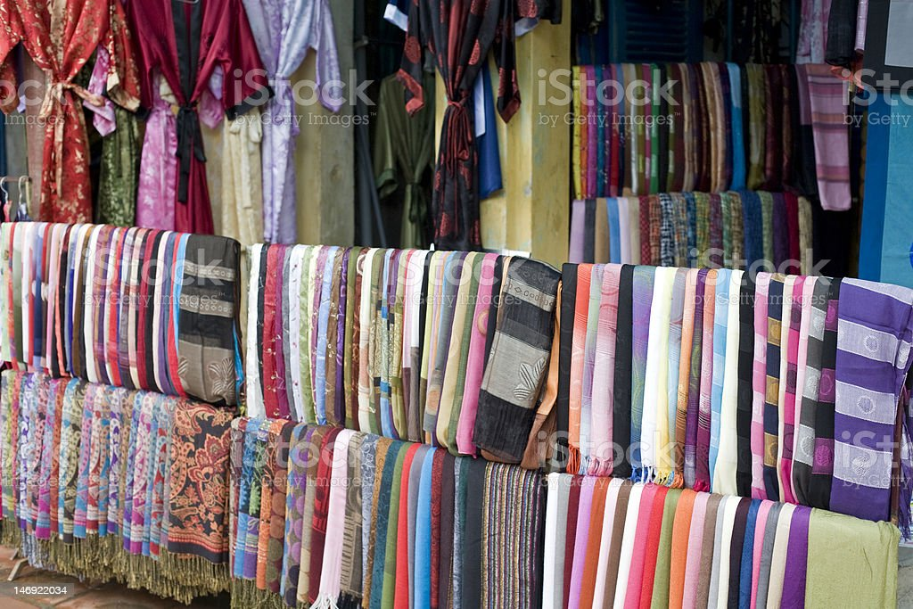 Silk material royalty-free stock photo