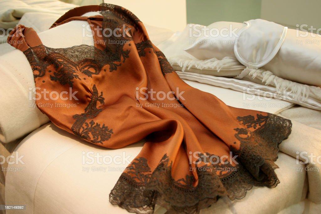 Silk PJs royalty-free stock photo