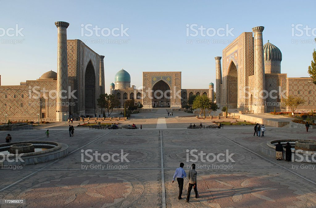 Silk Road stock photo