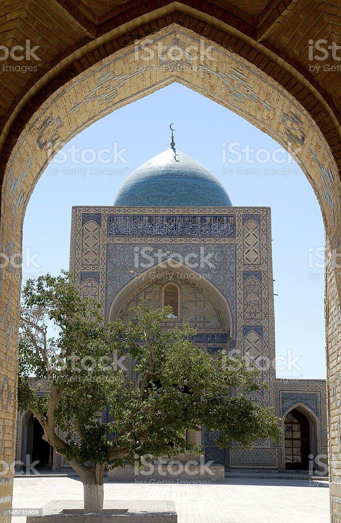 Silk Road podróży Buchara zbiór zdjęć royalty-free