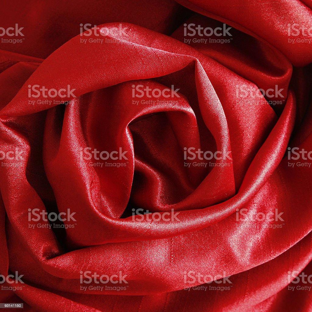 Silk Rose royalty-free stock photo