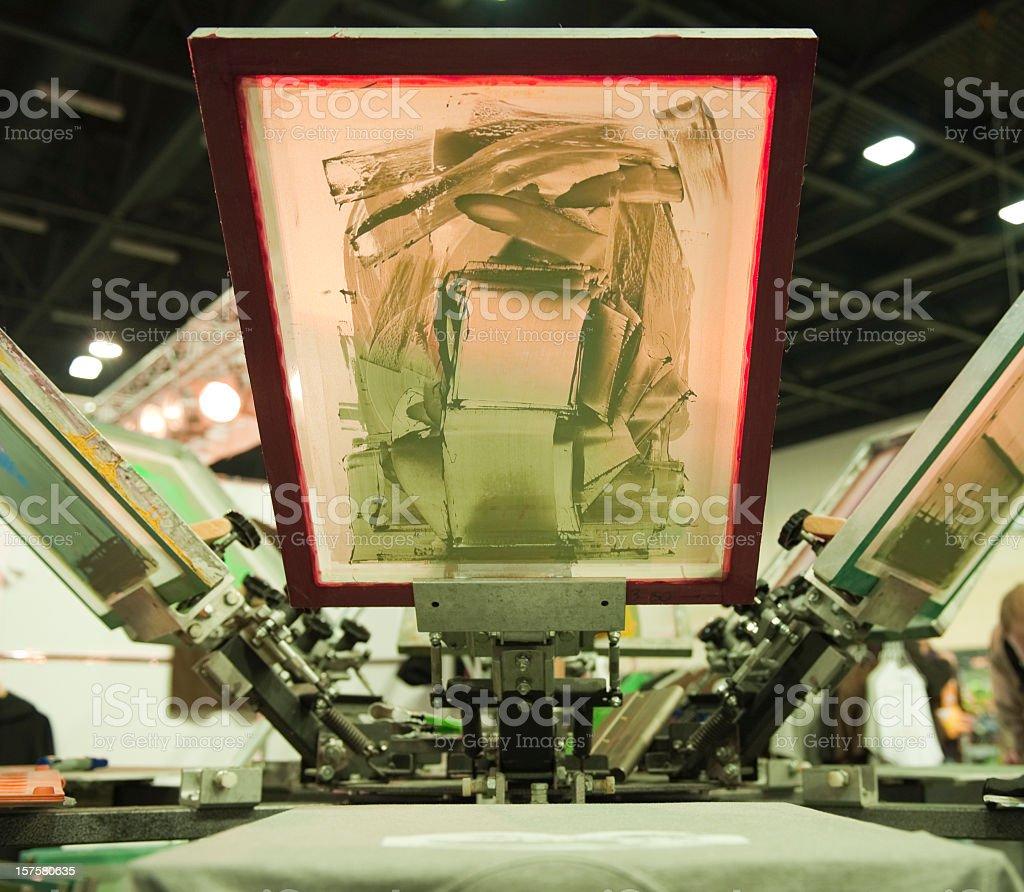 Silk Screen stock photo