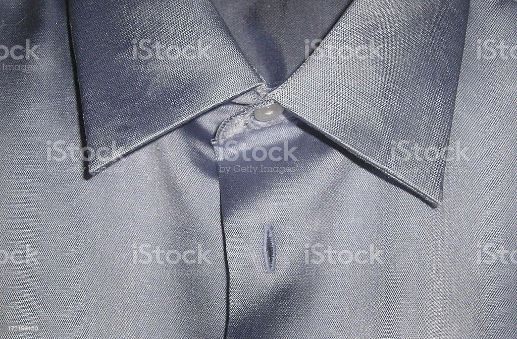 Silk shirt collar stock photo
