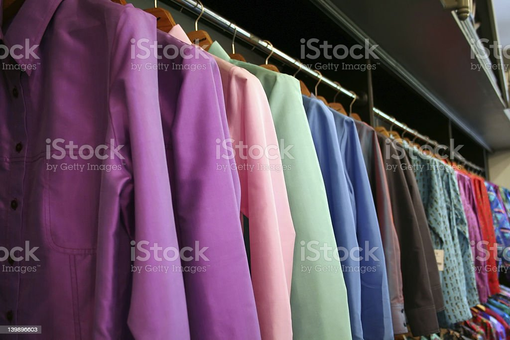 Silk suits royalty-free stock photo