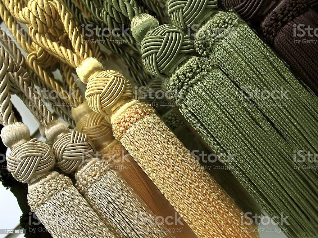 Silk Tassels 1 stock photo
