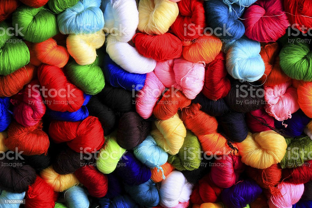 Silk thread background royalty-free stock photo