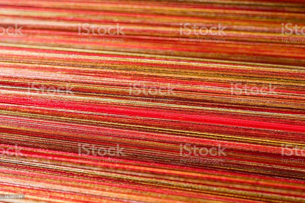 Silk threads III stock photo