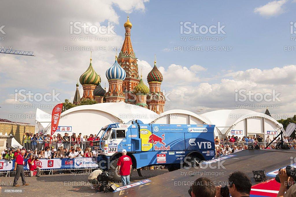 Silk Way Rally start royalty-free stock photo
