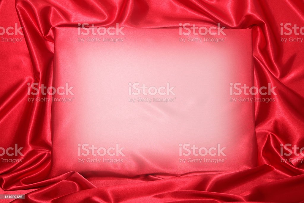 Silky invitation royalty-free stock photo
