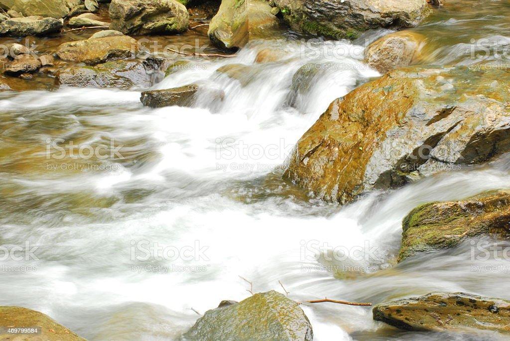 Silky Moorman's River royalty-free stock photo