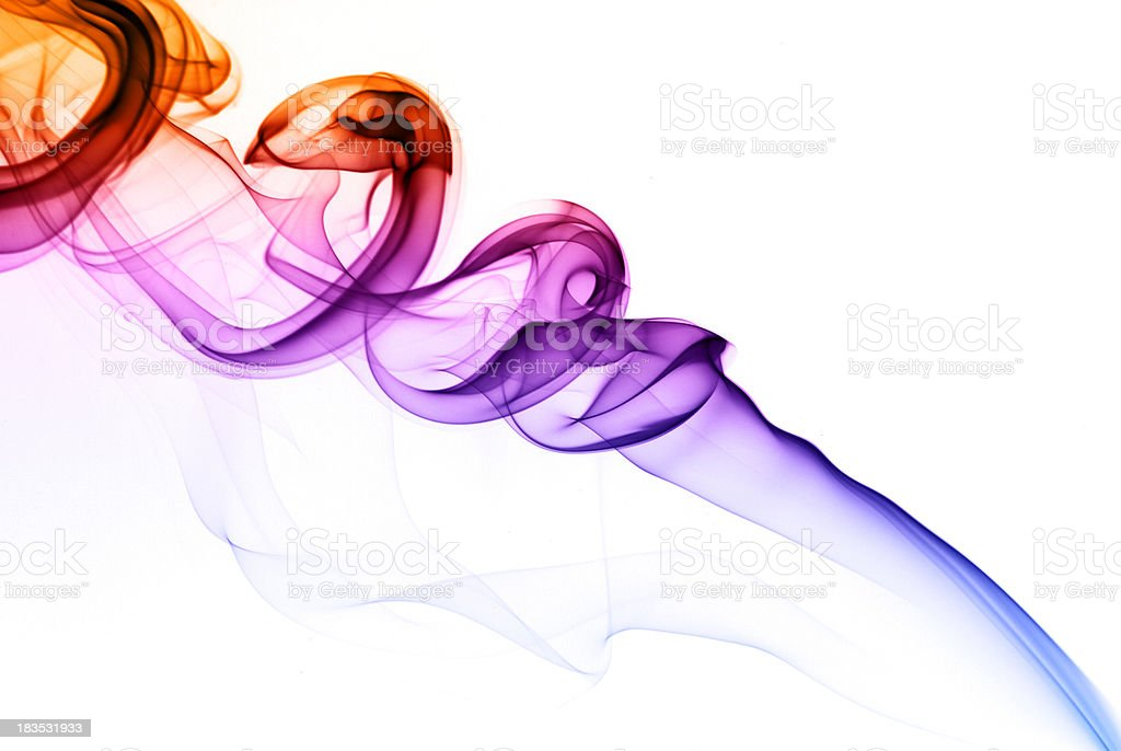 Silky smoke abstract royalty-free stock photo