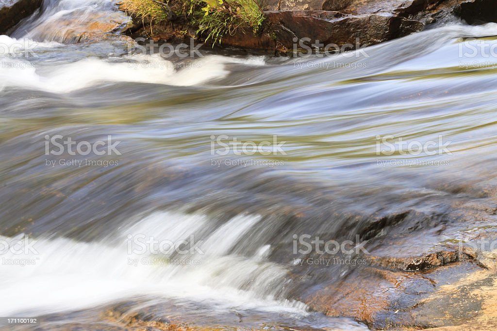 Silky Smooth Flowing Water stock photo
