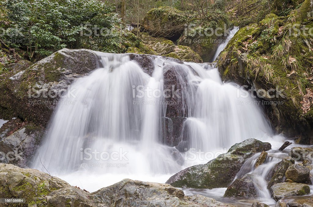 Silky Smooth Water royalty-free stock photo