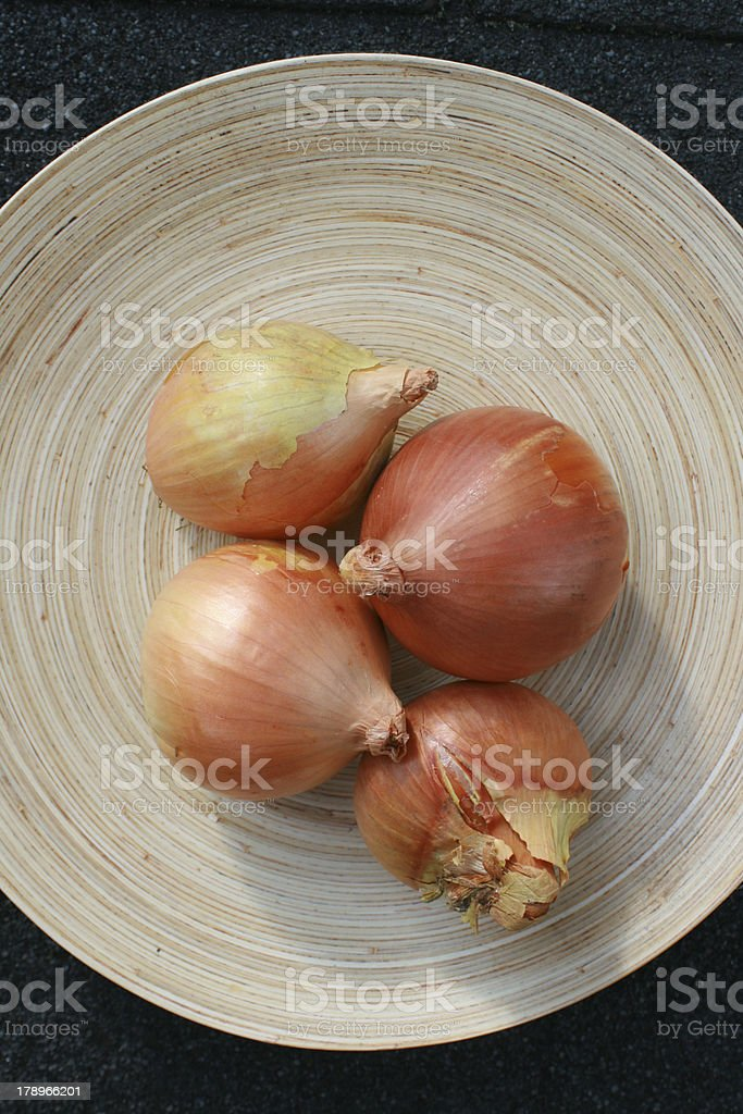 Sill life Onions royalty-free stock photo