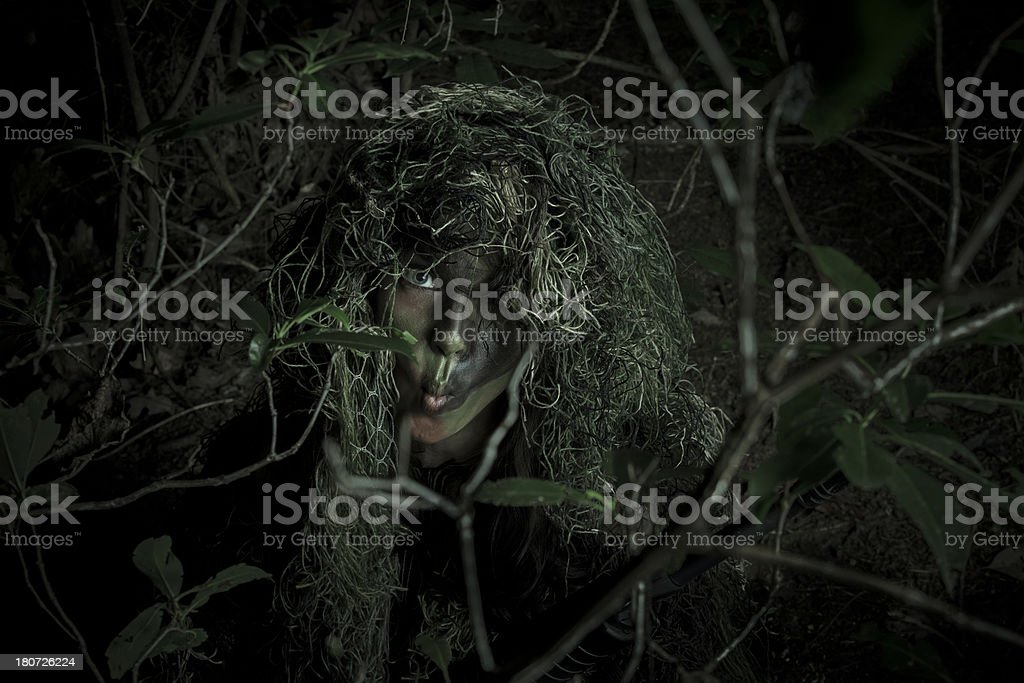 silly camo stock photo