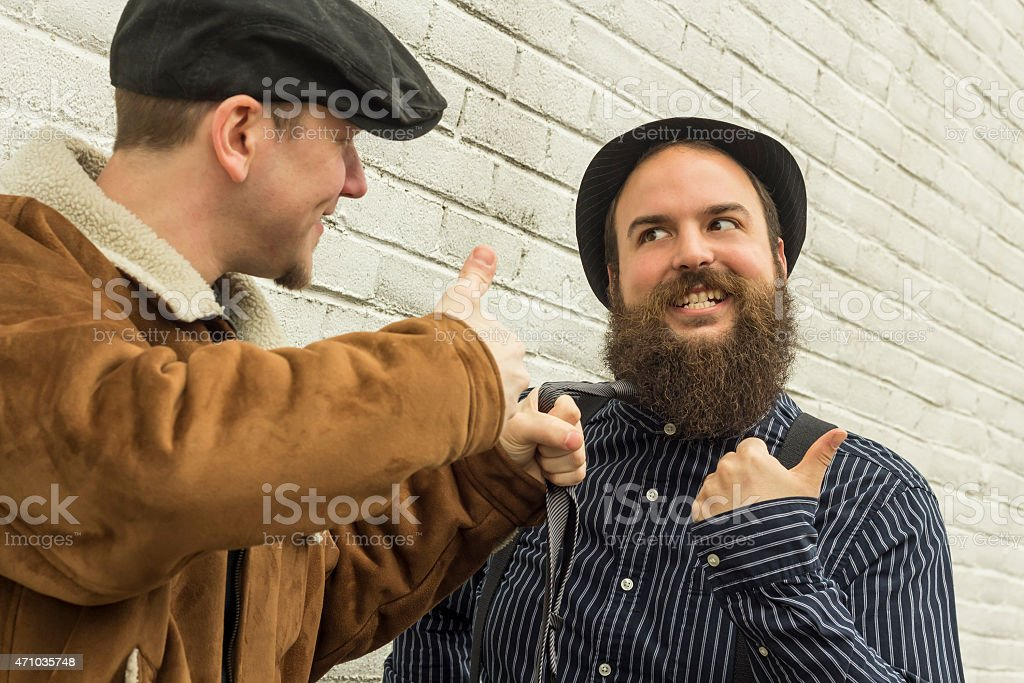 Silly Enemies stock photo