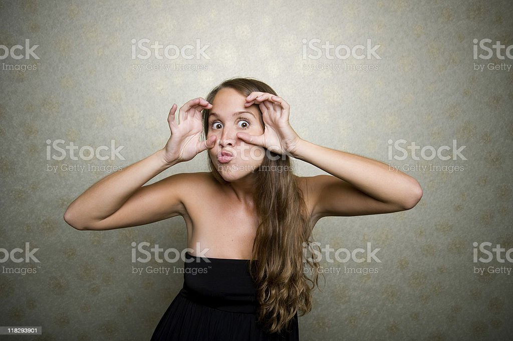 Silly Face royalty-free stock photo