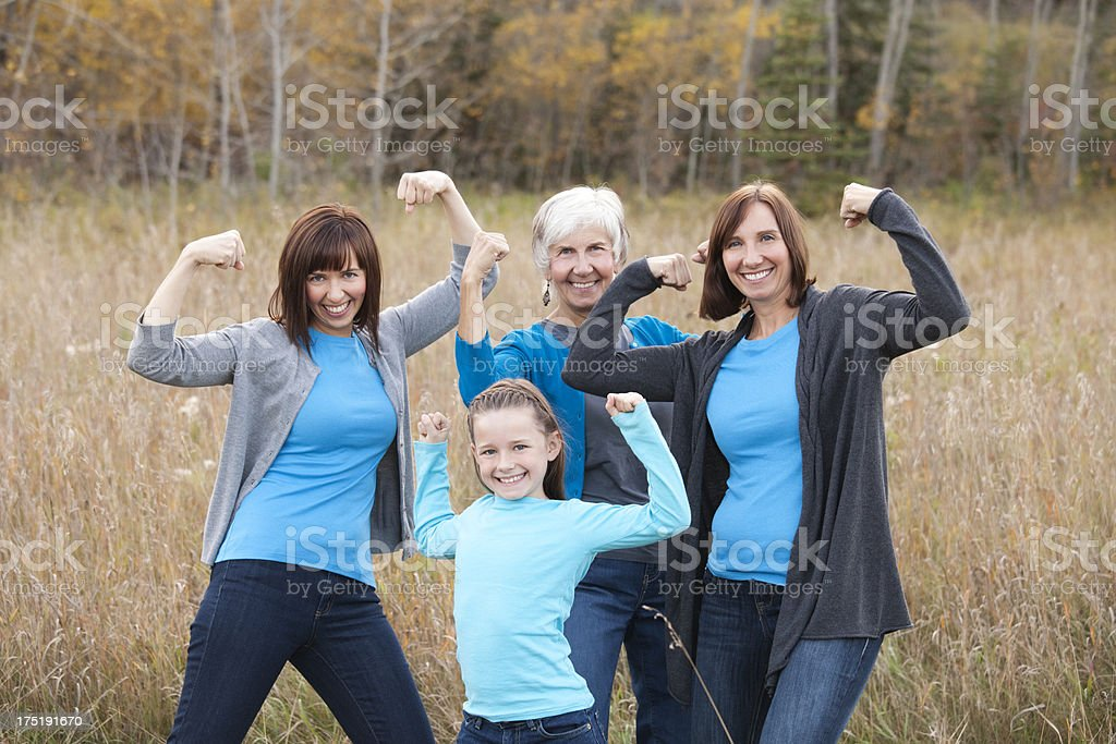 Silly Girls royalty-free stock photo