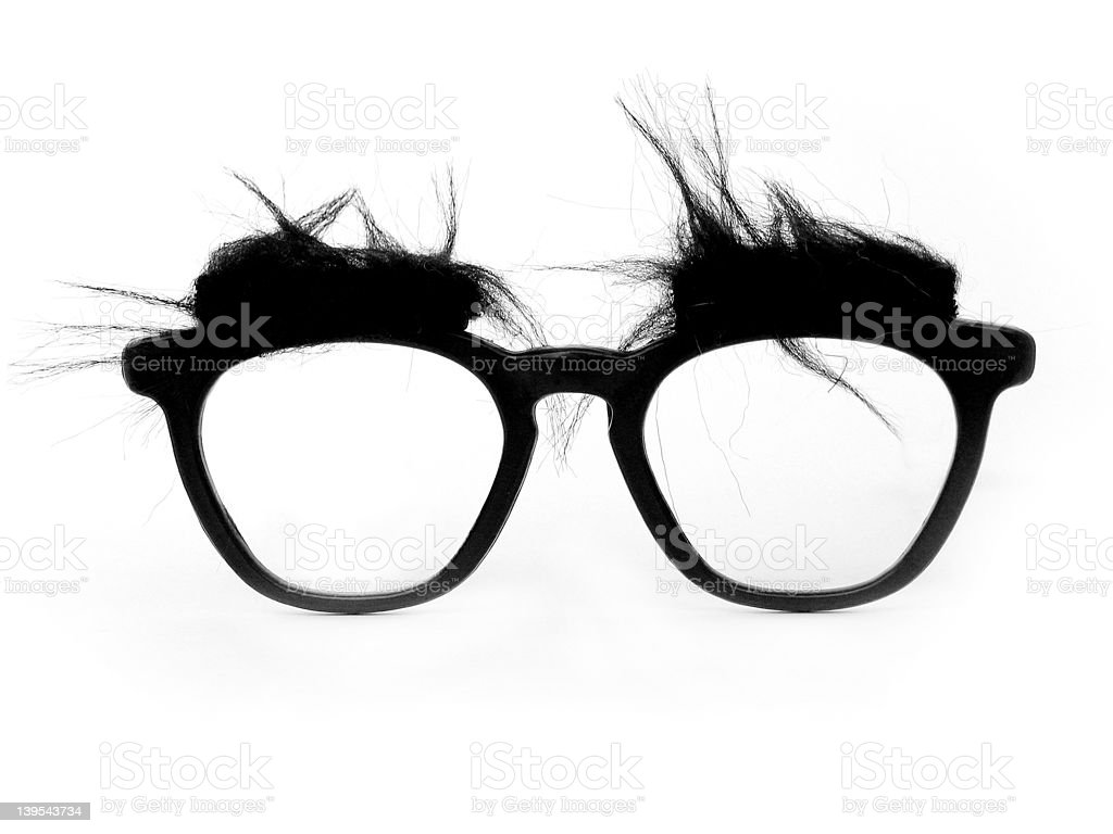 Silly Glasses stock photo