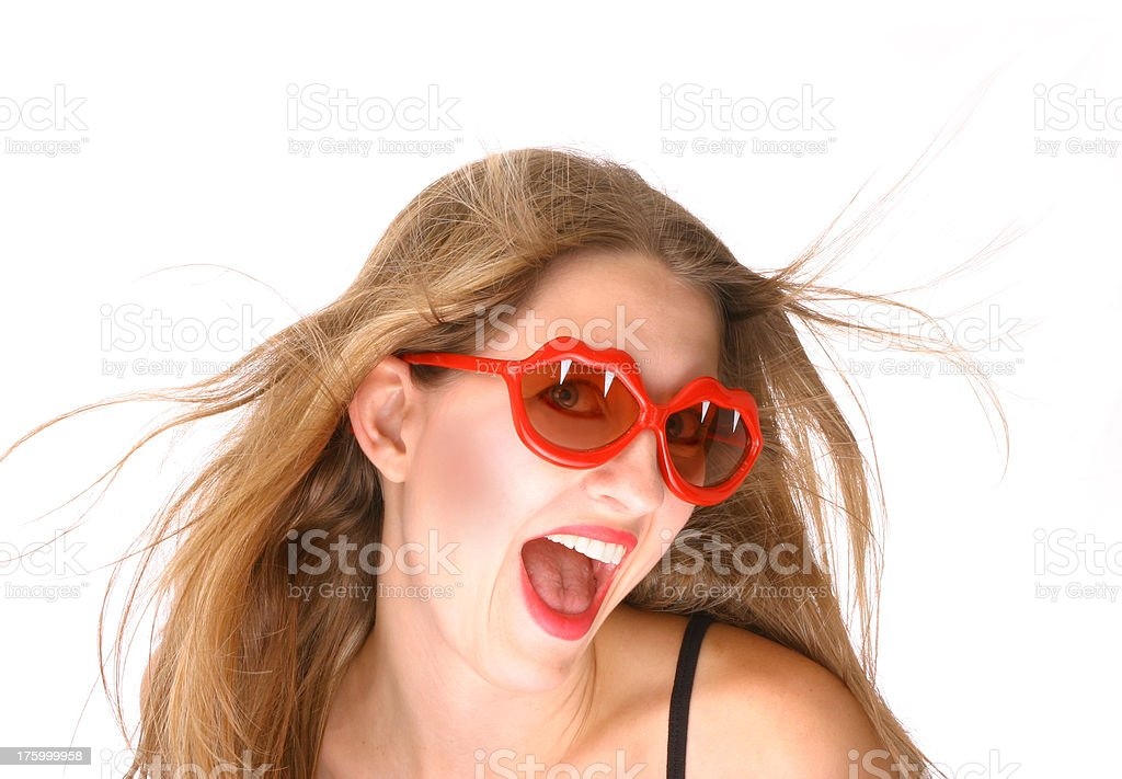 Silly Glasses royalty-free stock photo