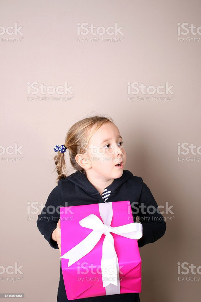 Silly Little Girl royalty-free stock photo