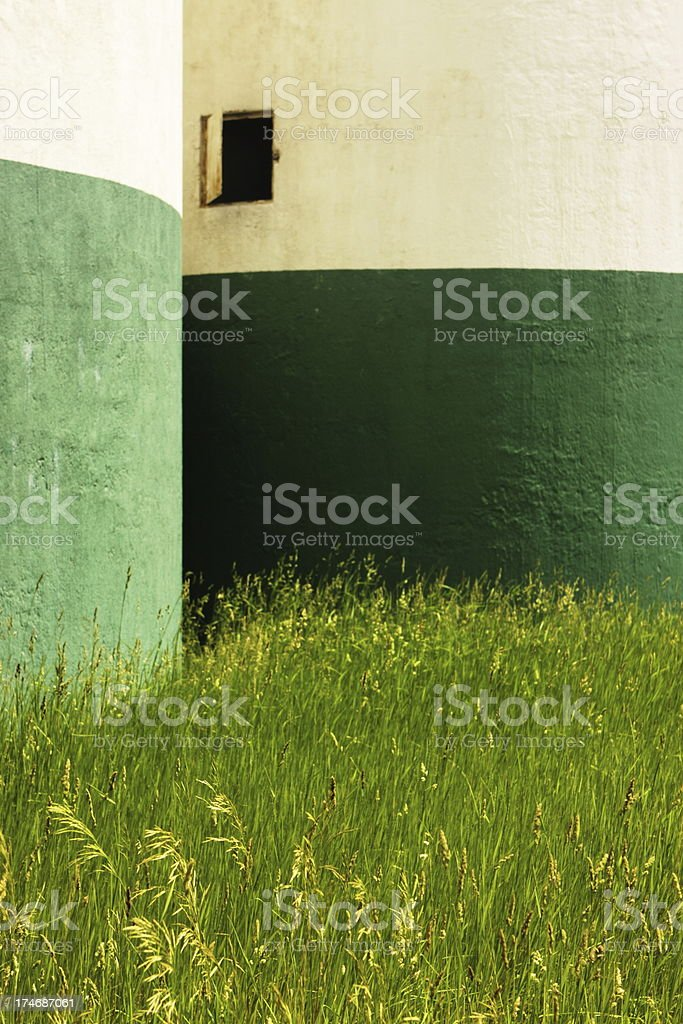 Silo Granary Agriculture Building royalty-free stock photo