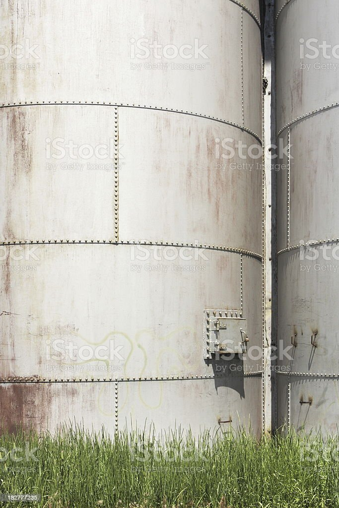 Silo Granary Farm Storage Building royalty-free stock photo