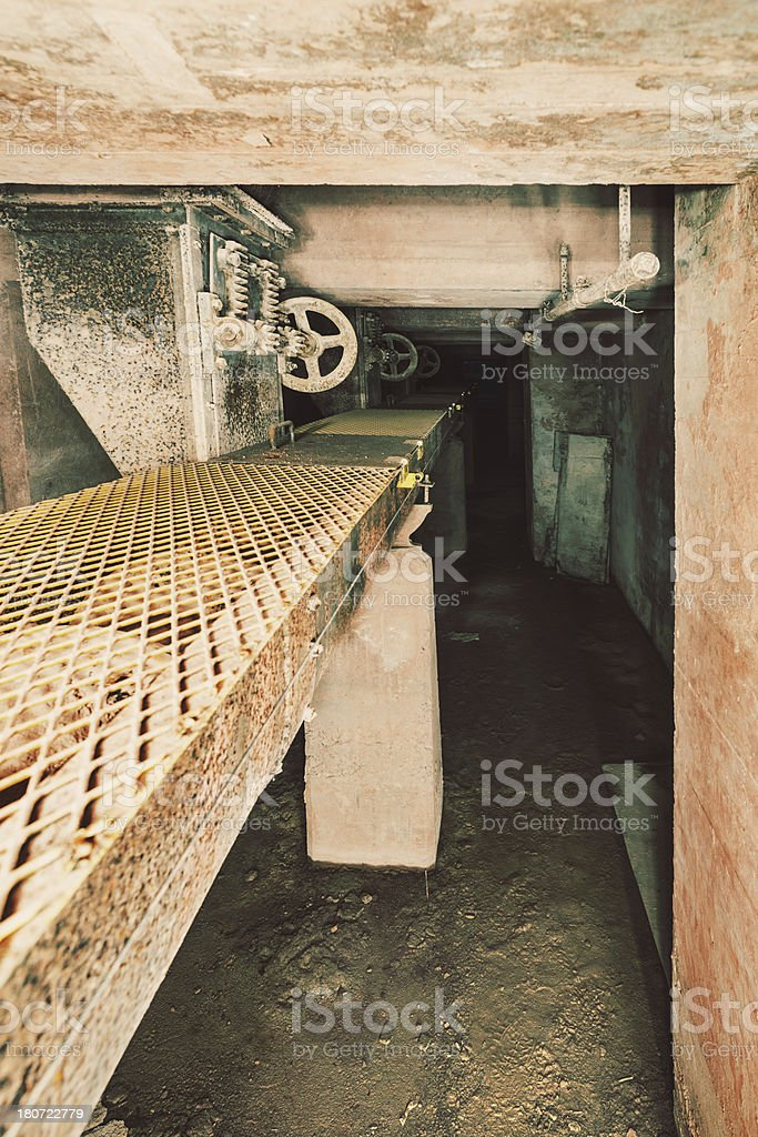 Silo Interior royalty-free stock photo
