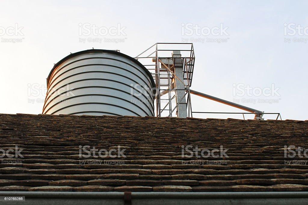 Silo - Stock Image stock photo