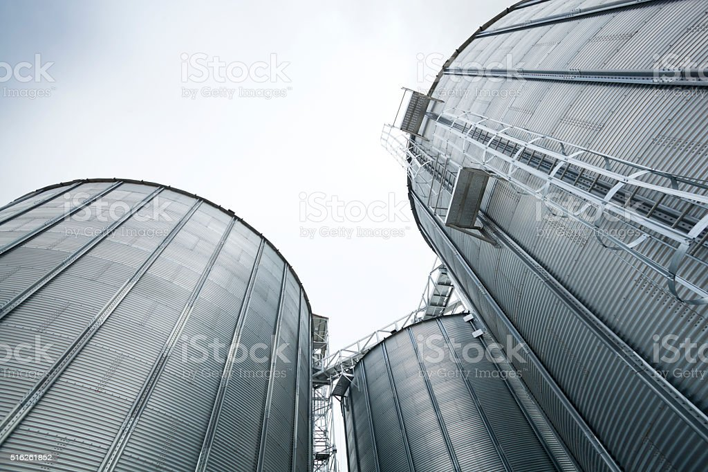 Silos Towers stock photo