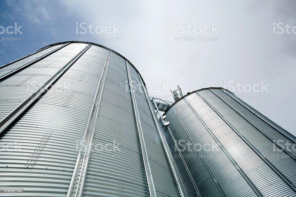 Silos Towers stock photo